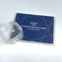 Square Princess Moissanite Charles Colvard Diamond 4.5mm .60 ct - Sealed COA