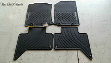 NEW OEM TOYOTA TACOMA EXTRA CAB ALL WEATHER FLOOR MATS W/ CARPET FLOORS