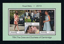 Aitutaki Postage Stamp Stamp – Birth of Prince George – William & Kate's Baby