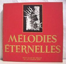 10 x 33T Coffret MELODIES ETERNELLES LP CARMEN LANZA MADO ROBIN RHODES BARYTON