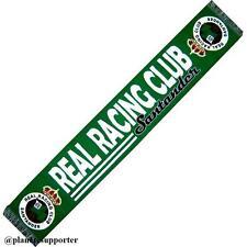 BUFANDA REAL RACING CLUB SANTANDER España scarf no bandera camiseta banderin ...