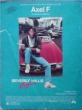 BEVERLY HILLS COP SHEET MUSIC, 1985 - PARAMOUNT PICTURES (EDDIE MURPHY CVR