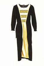 Girl's Black/Gold Rich Tudor Costume School Trips Plays 140 cm age 9/10 (3)
