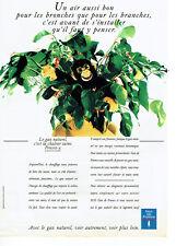 Publicité Advertising 107  1992  EDF   gaz naturel