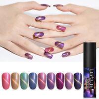 LILYCUTE 5ml Glitter Nail UV Gel Polish Magnetic Nail Art Gel Varnish Soak Off