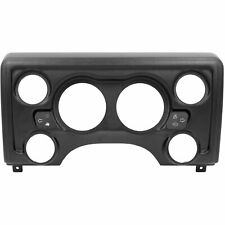 Auto Meter 90011 Direct-Fit Dash Panel 1997-06 Jeep TJ (2) 3-3/8 Holes (4) 2-1/1