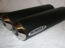Hindle 16x2 Oval Undertail Black Ceramic Stealth Muffler Set - NGPS162OVUY