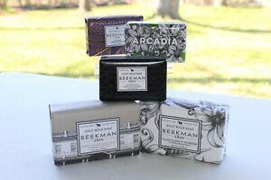 Beekman Goat Milk Soap 3.5oz Arcadia Davesforth Fig Leaf - 9 oz Honey Oat, Ylang