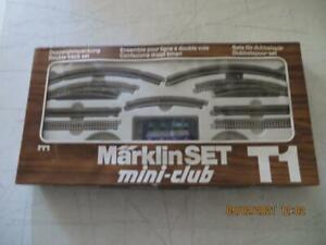 8192 Expansion Set T1 Märklin Track Set Mini Club Z Gauge
