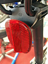 Rear Bicycle Reflector with Saddle Rail Mounting