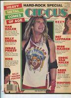 Circus May 31,1983 Van Halen Judas Priest Kiss Iron Maiden Ozzy Osbourne  MBX94