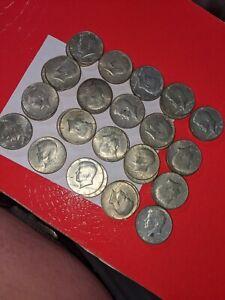 $20.00 Face Value 40% Silver Kennedy Half Dollars