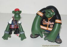 "CRITTAZ * Palisades Toys * 2 Action Figures * 3.25"" (8cm) Tall * G and Chimp *"