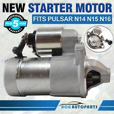 Starter Motor for Nissan Pulsar N14 N15 N16 1.6L GA16DE 1.8L QG18DE Petrol 91-05