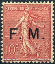 FRANCE MOUCHON F.M. N° 4 NEUF ** SANS CHARNIERE COTE 130€