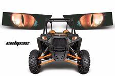 AMR Racing Polaris RZR 1000 UTV Headlight Graphics Eye Sticker Decals ECLIPSE O