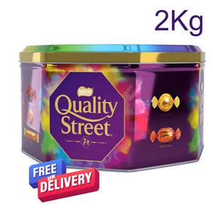 2Kg Tin Of Nestle Quality Street Chocolates BB 09/2022 Nice Xmas Gift
