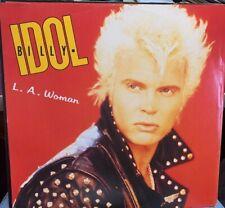 "BILLY IDOL LA WOMAN LICENCE TO THRILL 12"" IMPORT CHRYSALIS 1990 IDOLX15"