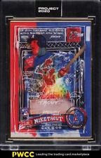 2020 Topps Project 2020 Mike Trout By Gregory Siff 1/1 #325
