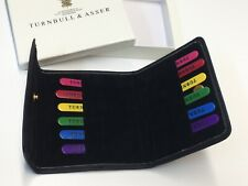TURNBULL and ASSER Shirt Collar Stays Multicoloured Stiffeners Case Boxed Rare