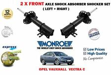 FOR OPEL VAUXHALL VECTRA C 2002-2008 2 X FRONT SHOCK ABSORBER SHOCKER SET