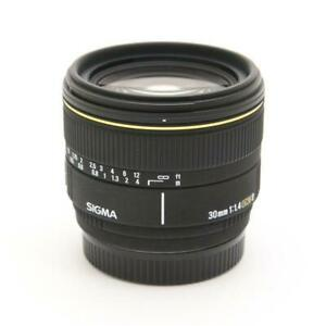 Secondhand Sigma 30Mm F1.4Ex Dc For Sony Lens Interchangeable