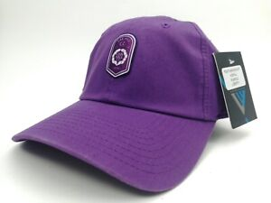 Golf Hat ~ Purple Adjustable Baseball Cap ~ Oak Hill Country Club ~ Rochester NY