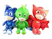 "Disney PJ Masks Catboy Owlette Gekko Plush Doll Stuffed Animal Toy Gift SET 8"""