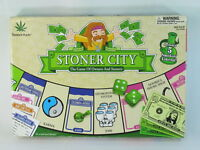 Stoner City 2005 Board Game 100% Complete Weed 420 Excellent Plus Condition Rare