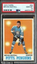 1970 Topps Hockey #94 Bryan Hextall Pittsburgh Penguins PSA 10 GEM MINT