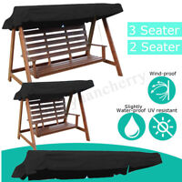 2 & 3 Seater Garden Patio Swing Chair Replacement Anti-UV Canopy Spare Cove