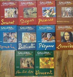 libri GALLERIA D'ARTE DeAgostini arte libri artisti