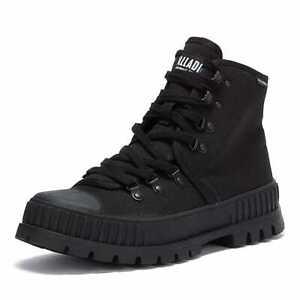 Palladium Pallashock Hiker Hi Womens Black Boots Sneaker Chunky Combat Shoes