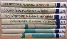 Countryside Planning Yearbooks: collection of 7 volumes (1980-1986)