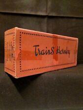 HORNBY Meccano Train N°1-5 Fourgon Jouet Toy Chemin de Fer Boite vide box empty