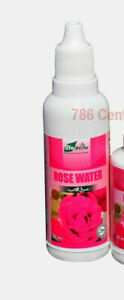 50ml Pure Rose Water with Eye Dropper Life Style Face Cleanser Moisturizer Toner