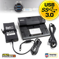 E5440 E5540 E5550 E6440 E6540 E7440 DELL E-Port Docking Station USB 3.0 + PA-4E