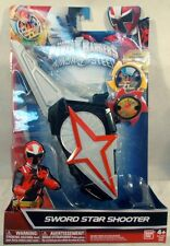 Power Rangers Ninja Steel Sword Star Shooter With Ninja Stars Role Play (MISP)