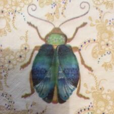 paper napkins decoupage x 2 beetle 25cm