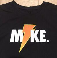 Nike Air Jordan Retro 6 Like Mike Gatorade Mens Shirt Size S Black Graphic