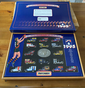 """1995 LIMITED EDITION CLUB CAR COLLECTIBLES """"MATCHBOX"""""""