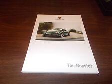 2010 Porsche Boxter 126-Page Deluxe Sales Catalog