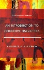 An Introduction to Cognitive Linguistics (Learning About Language)