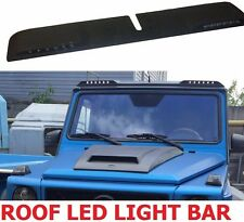 FRONT ROOF SPOILER with LED DRL for Mercedes Benz W463 G class G63 LIGHT BAR