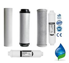 Replacement for 6 Stage Reverse Osmosis System Pre Filters + Post Mineral Carbon
