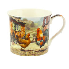 Leonardo Collection Cockerel and Hen Palace Mug Chicken Farm Village Vintage