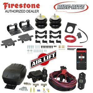 Firestone Ride Rite Bags & Air Lift Wireles for 11-20 Silverado Sierra 2500 3500