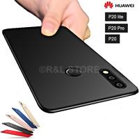 COVER per Huawei P20/Lite /Pro CUSTODIA OPACA Protezione 360° RIGIDA SLIM Case