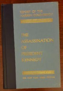 Report of Warren Commission Assassination of President Kennedy. JFK. NYT 1964 HC