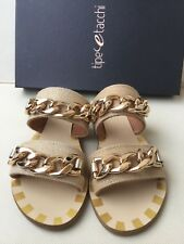 Beautiful woman TYPE AND HEEL sandals, biege color, size 36   Sandali Donna